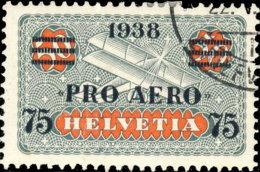 Suisse Poste Aérienne 1938. ~ A 26 - Timbre De 1924 Surchargé - Poste Aérienne