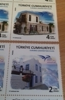 TURKEY, 2018, MNH, EUROMED, HOMES, HOUSES, 2v - Architecture
