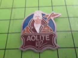 718A Pin's Pins / Belle Qualité Et Rare /  AVION AVIATION : AOLITE KID - Airplanes