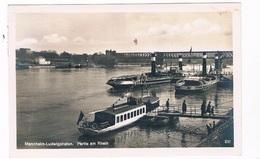 D-8763   MANNHEIM-LUDWIGSHAFEN : Partie Am Rhein - Mannheim