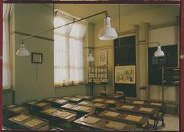 NL.- Rotterdam. Nationaal Schoolmuseum Nieuwemarkt 1A. Klaslokaal Begin 20e Eeuw. Foto W. Ligthart / E. Van Leeuwaarden. - School