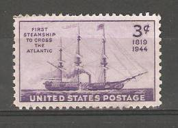 "United States 1944,Steamship ""Savannah"",Sc 923,MNH** - United States"