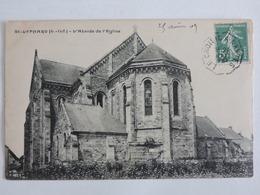 Saint-Lyphard - L'abside De L'èglise  Ref 0034 - Saint-Lyphard