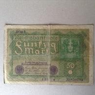 50 Mark 14 Juin 1919 - 50 Mark