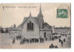 CPA 44 Soudan Abside De L'église Sortie De La Messe - France