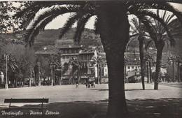 9074-VENTIMIGLIA(IMPERIA)-PIAZZA LITTORIO-1943-ANIMATA-FP - Imperia