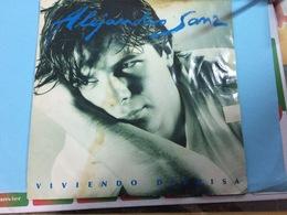 ALEJANDRO SANZ- VIVIENDO- DISQUE 33 T. - Vinyl-Schallplatten