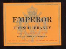 Etiquette De   Brandy   - Emperor - Labels