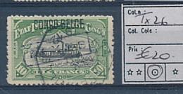 BELGIAN CONGO COB TX26 USED - Belgian Congo
