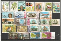 24 Francobolli Molto Belli Dell'Isola Norfolk, Cancellati, Di Buona Qualità. (Yvert 20,00 Euro) - Isola Norfolk