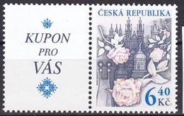 2003, Tschechische Republik, Ceska, 353, Grußmarke. MNH ** - Tschechische Republik
