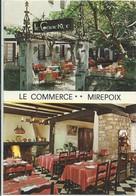 Mirepoix-''Le Commerce''-Bar Hôtel Restaurant-Multi-vues (CPM) - Mirepoix