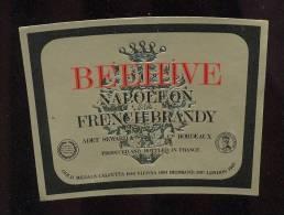Etiquette De Brandy Napoléon - Beehive - Labels