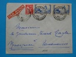 R2- Pour Tananarive Madagascar - 1927-1959 Storia Postale