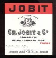 Etiquette De  Brandy   -  Jobit   -   10.4 X 11.3 Cm - Labels