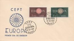 EU28   Europa 1960 Espagne FDC   TTB - Europa-CEPT