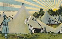 CPA - Thèmes - Militaria - Guerre 1914-18 - La Vie Au Camp - 5 Heures Du Matin - Le Réveil - Guerre 1914-18