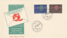 EU29   Europa 1960 Espagne FDC   TTB - Europa-CEPT