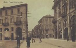 ASTI-CORSO VITTORIO ALFIERI-CARTOLINA ANNO 1910-1920 - Asti