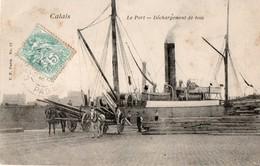 [62] Pas De Calais > Calais Le Port Déchargement De Bois - Calais