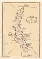9082-ORTA E IL SUO LAGO(NOVARA)-CARTINA DISEGNATA-FG - Carte Geografiche