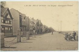 Bray-Dunes-La Digue-Quelques Villas - Bray-Dunes