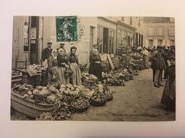 Brou - Un Coin Du Marché Aux Légumes - Andere Gemeenten