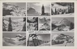 Autriche - Lech Am Arlberg - Vues Diverses - 1955 - Lech