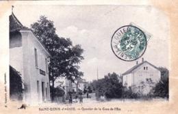 73 - Savoie -  SAINT GENIX D AOSTE - SAINT GENIX Sur GUIERS - Quartier De La Gare De L Est - Autres Communes