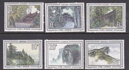 China People's Republic SG 3355-3360 1984 Landscapes, Mint Never Hinged - 1949 - ... People's Republic