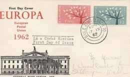 EU52   Europa 1962 FDC Irlande   TTB - Europa-CEPT