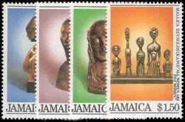 Jamaica 1984 Christmas Sculptures Unmounted Mint. - Jamaica (1962-...)