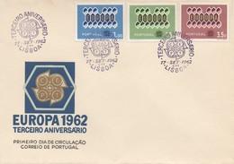 EU54   Europa 1962 FDC Portugal   TTB - Europa-CEPT