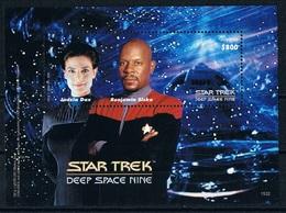 Bloc Sheet Star Trek Deep Space Nine Neuf MNH ** Guyana 2015 - Timbres