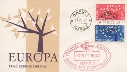 EU57   Europa 1962 FDC Italie   TTB - Europa-CEPT
