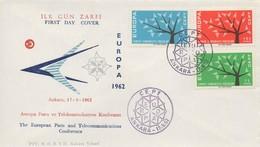 EU58   Europa 1962 FDC Turquie   TTB - Europa-CEPT