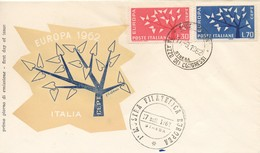 EU59   Europa 1962 FDC Italie   TTB - Europa-CEPT