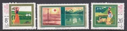 China People's Republic SG 3410-3412 1985 30th Anniversary Of Xinjiang Uygur, Mint Never Hinged - 1949 - ... Volksrepubliek