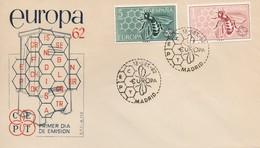 EU61   Europa 1962 FDC Espagne   TTB - Europa-CEPT