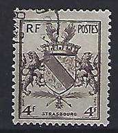 France 1945  Libération De Metz Et De Strasbourg (o) Yvert 735 - France