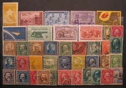 USA Markenlot 1922 - 1992 Postfrisch & Gestempelt    (I166) - Estados Unidos