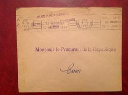 Le Bourget Salon Aviation Franchise Procureur - Marcophilie (Lettres)