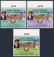 Jordan 1679-1681,MNH. Visit Of Pope Paul VI To Jordan,36th Ann.2000.John Paul II - Jordan