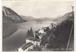 12184-CAMPIONE D'ITALIA(COMO)-VEDUTA PARZIALE-1951-FG - Como