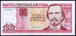 CUBA 100 PESOS 2016 REMPLAZO AZ10 - Cuba