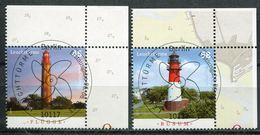 "Germany 2013 Michel Nr.3010/11 ""Leuchttürme-Büsum Und Flügge Insel Fehmarn"" 2 Werte Used - Leuchttürme"