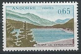 ANDORRE FRANCAIS 1961-71 - YT N°162 - 65 C. - Lac D'Engolasters à Encamp - Neuf** TTB++ Etat - French Andorra