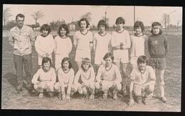TIELT   FOTO 14 X 9 CM - 1973   VOETBAL  F.C. TIELT KAMPIOEN - Tielt