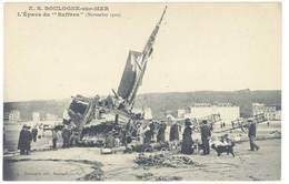 Cpa Boulogne Sur Mer - L'épave Du Suffren  ...  ( S. 3098 ) - Boulogne Sur Mer