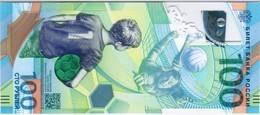 Russia - Pick New - 100 Rubles 2018 - Unc - Commemorative World Cup Football - Russia